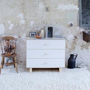Oeuf 3-Drawer Dressers