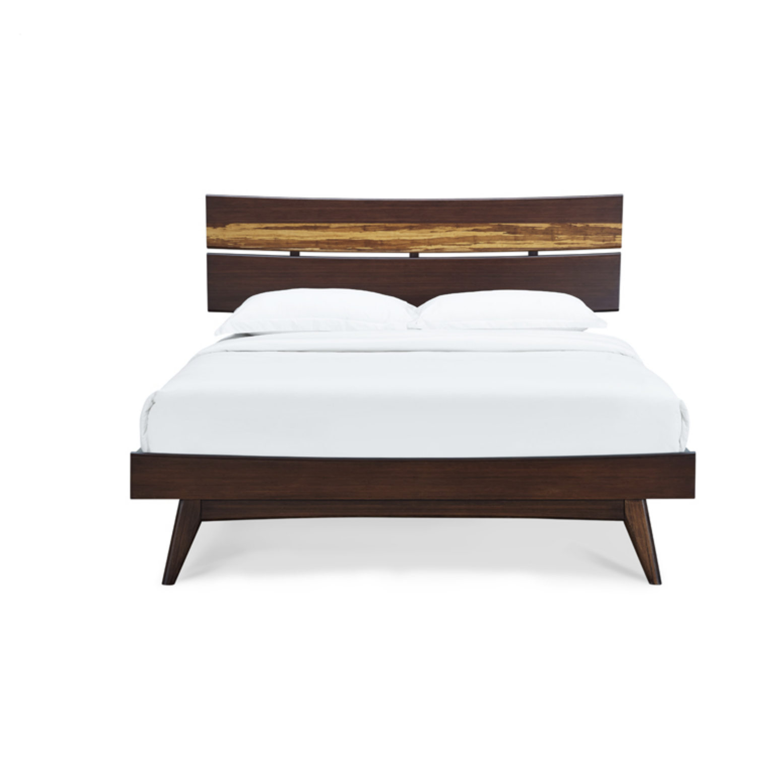 Azara Bamboo Bed Frame Sable Wood