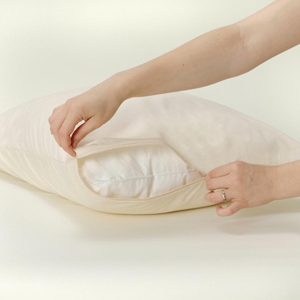 Organic Cotton Pillow Allergy Encasements