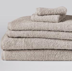 Coyuchi Cloud Loom Organic Cotton Towels