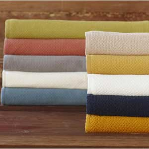 Coyuchi Organic Cotton Honeycomb Blanket