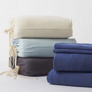 Coyuchi Jersey Knit Organic Cotton Sheet Sets