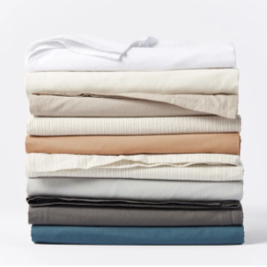 Coyuchi Crinkled Percale