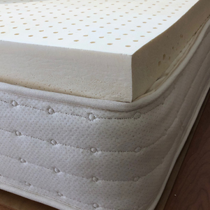 dream aura latex and pocketed coil hybrid mattress