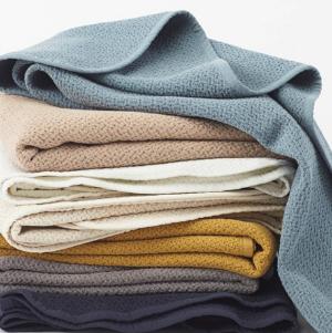 Coyuchi Honeycomb Baby Blanket
