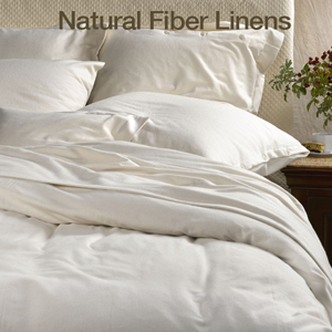 natural cotton and organic luxury linens