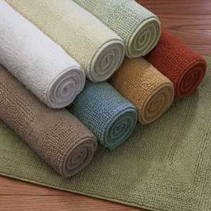 Cotton Reverse Bath Mats
