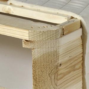 Wood Slat Foundation