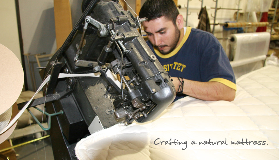 creating a natural mattress
