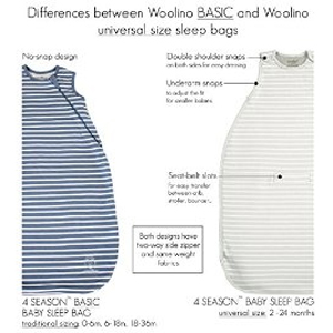 Woolino 4 Season Basic Baby Sleep Bag